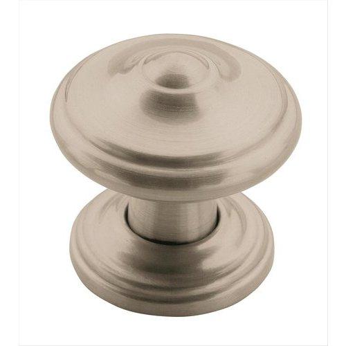 Amerock Revitalize 1-5/16 Inch Diameter Satin Nickel Cabinet Knob BP55341G10