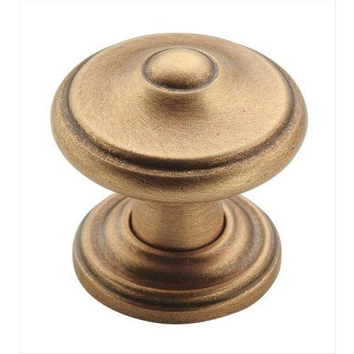 Amerock Revitalize 1-5/16 Inch Diameter Gilded Bronze Cabinet Knob BP55341GB