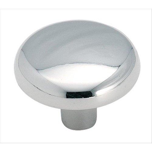 Amerock Allison Value Hardware 1-1/4 Inch Diameter Polished Chrome Cabinet Knob BP71026