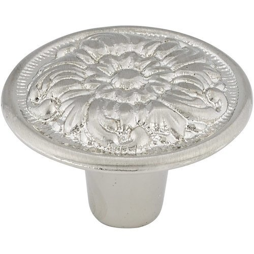Richelieu Traditional 1-3/16 Inch Diameter Knobs with Nickel Finish BP7630195