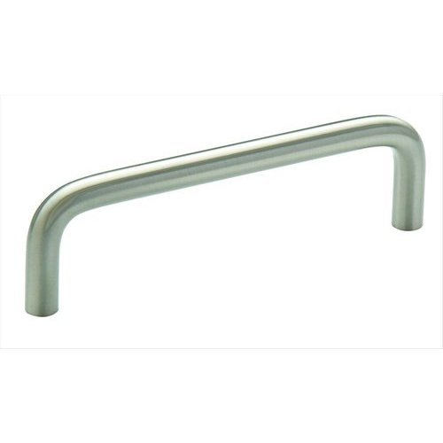 Amerock Allison Value Hardware 3-3/4 Inch Center to Center Satin Nickel Cabinet Pull BP76313CSG10