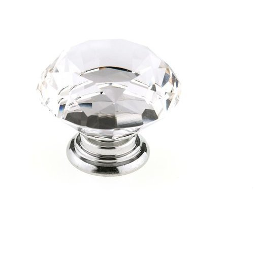 Richelieu Contemporary 1 31 32 Inch Diameter Metal Crystal