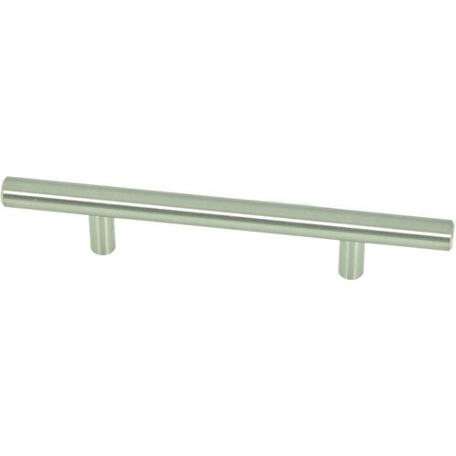 Stone Mill Hardware Stockholm 3-3/4 Inch Center to Center Stainless Steel Cabinet Pull CP4006-SS