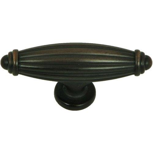 Stone Mill Hardware Vienna 2-5/8 Inch Diameter Oil Rubbed Bronze Cabinet Knob CP5230-OB