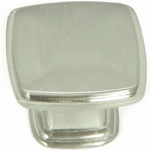 Stone Mill Hardware Milan 1-1/4 Inch Diameter Satin Nickel Cabinet Knob CP81091-SN