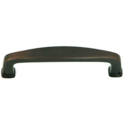 Stone Mill Hardware Milan 3-3/4 Inch Center to Center Oil Rubbed Bronze Cabinet Pull CP81092-OB
