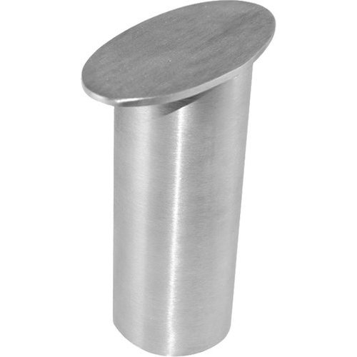 Federal Brace Dilworth Countertop Post Support 5 inch High - Brushed Stainless 31530