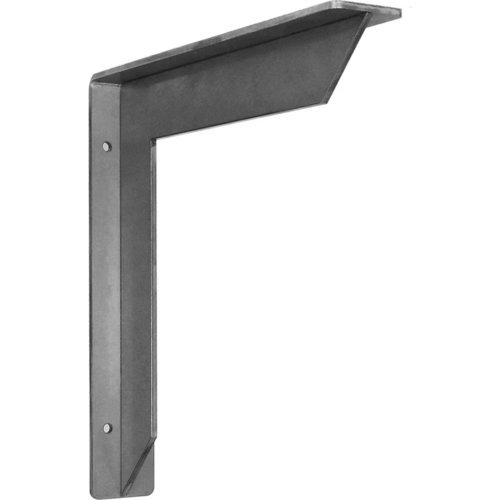 Federal Brace Streamline Countertop Support 10 inch x 10 inch - Cold Rolled Steel 34438