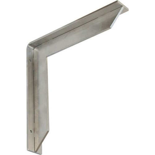 Federal Brace Streamline Countertop Support 16 inch x 16 inch - Brushed Stainless 34462