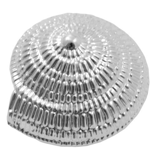 Laurey Hardware Oceana 1.67 Inch Width Swirl Cabinet Knob - Polished Chrome 56526
