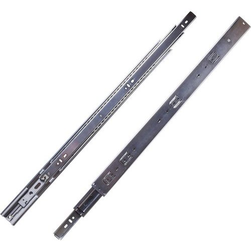 Hickory Hardware 16 Inch Soft Close Full Extension Ball Bearing Side Mount Drawer Slide - Cadmium P1055/16-2C