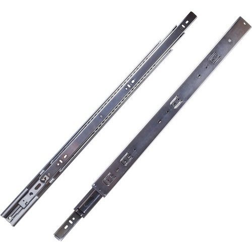 Hickory Hardware 22 Inch Soft Close Full Extension Ball Bearing Side Mount Drawer Slide - Cadmium P1055/22-2C