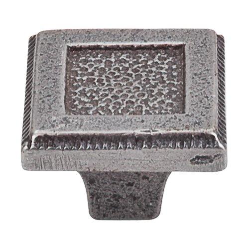 Top Knobs Britannia 1-5/16 Inch Diameter Cast Iron Cabinet Knob M1820