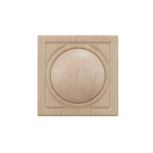 Brown Wood Large Infinity Tile Unfinished Hard Maple 01902538HM1