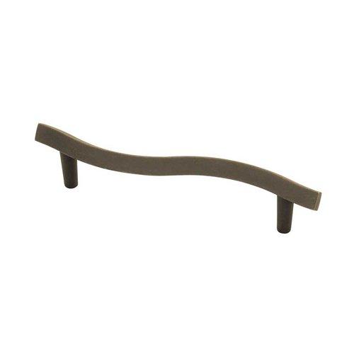 Liberty Hardware Fusilli 3-3/4 Inch Center to Center Distressed Oil Rubbed Bronze Cabinet Pull PN0403-OB-C