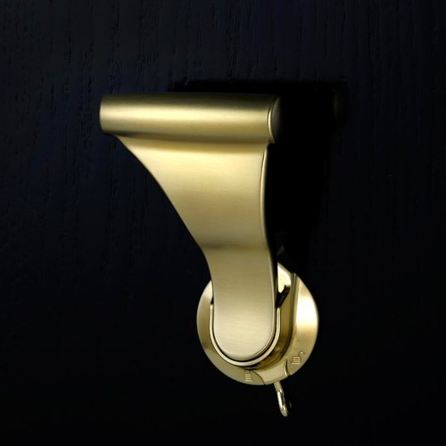 "UltraLatch for 2"" Door W/ Privacy Latch Satin Brass <small>(#L34P-4)</small>"