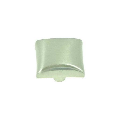 Stone Mill Hardware Milan 1-1/8 Inch Diameter Satin Nickel Cabinet Knob CP82356-SN