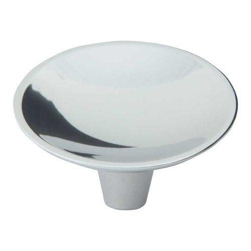 Atlas Homewares Dap 2 Inch Diameter Brushed Nickel Cabinet Knob 226-BRN