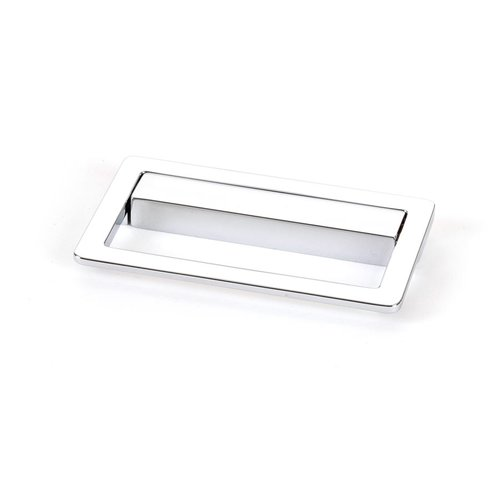 Up 2-1/2 Inch Center to Center Polished Chrome Recess Pull <small>(#9738-1026-C)</small>