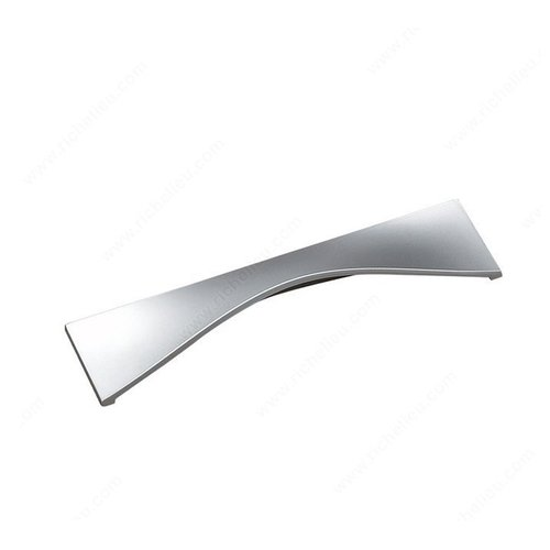 Richelieu Lift 3-3/4 Inch Center to Center Matte Chrome Cabinet Pull 2170096174