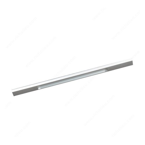 Richelieu Squared 12-5/8 Inch Center to Center Aluminum Cabinet Pull BP1310132010
