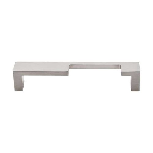 Sanctuary II 5 Inch Center to Center Brushed Satin Nickel Cabinet Pull <small>(#TK259BSN)</small>