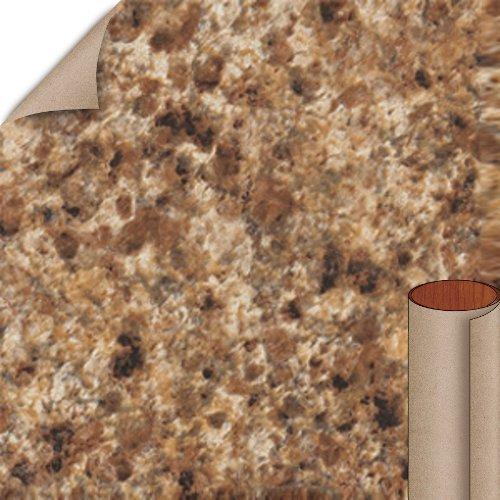 Nevamar Madura Gold Granite Textured Finish 4 ft. x 8 ft. Countertop Grade Laminate Sheet GR4001T-T-H5-48X096