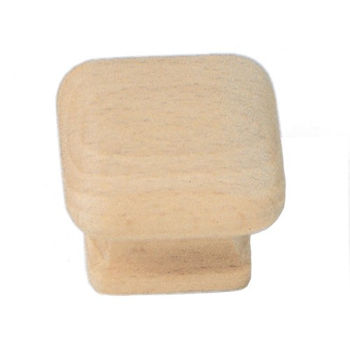 Laurey Hardware Au Natural 1-1/2 Inch Diameter Wood Cabinet Knob 32301