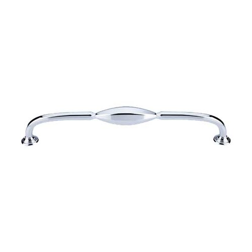 Top Knobs Chareau 8-13/16 Inch Center to Center Polished Chrome Cabinet Pull TK233PC
