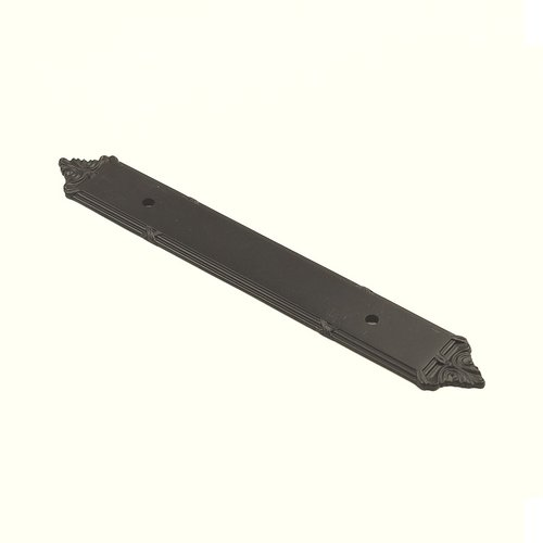 Century Hardware Georgian 3-3/4 Inch Center to Center Oil Rubbed Bronze Back-plate 16069-10B