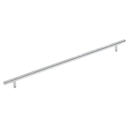 Amerock Bar Pulls 16-3/8 Inch Center to Center Sterling Nickel Cabinet Pull BP19015CSG9