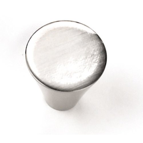 Delano 1 Inch Diameter Brushed Satin Nickel Cabinet Knob <small>(#26159)</small>