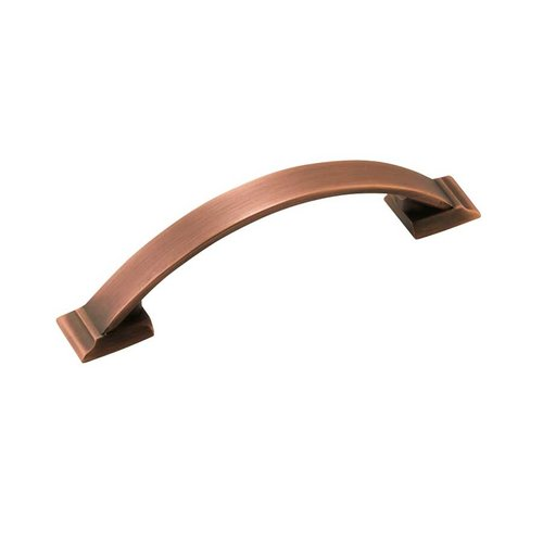 Amerock Candler 3-3/4 Inch Center to Center Brushed Copper Cabinet Pull BP29355BC