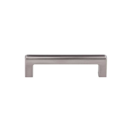 Top Knobs Transcend 1-1/8 Inch Diameter Brushed Satin Nickel Cabinet Pull TK672BSN
