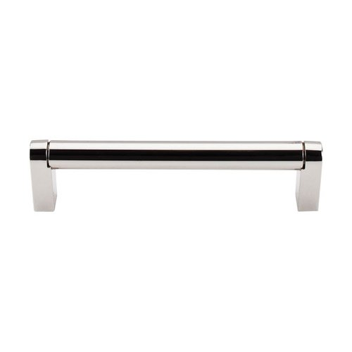 Top Knobs Asbury 5-1/16 Inch Center to Center Polished Nickel Cabinet Pull M1256