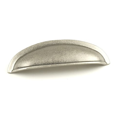 Century Hardware Hartford 3 Inch Center to Center Aged Pewter Cabinet Cup Pull 13543-AP