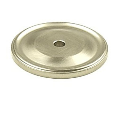 Century Hardware Yukon 1-1/2 Inch Diameter Matte Satin Nickel Back-plate 16369-MSN