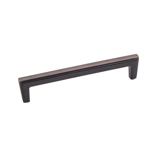 Jeffrey Alexander Lexa 5-1/16 Inch Center to Center Brushed Oil Rubbed Bronze Cabinet Pull 259-128DBAC