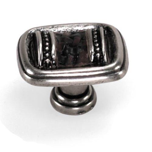 Laurey Hardware Sirocco 1-3/8 Inch Diameter Silverado Cabinet Knob 59639