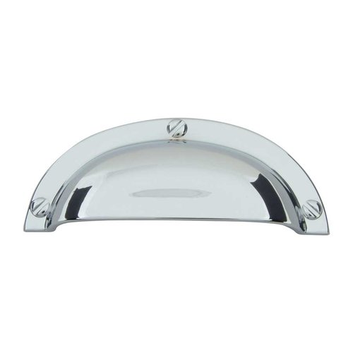 Atlas Homewares Successi 2-1/2 Inch Center to Center Polished Chrome Cabinet Cup Pull A818-CH