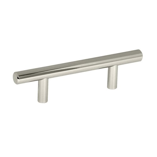 Amerock Bar Pulls 3 Inch Center to Center Polished Nickel Cabinet Pull BP40515PN