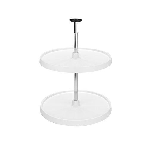 Rev-A-Shelf 3072 Full Circle Shelf Set 20 inch - White 3072-20-11-52