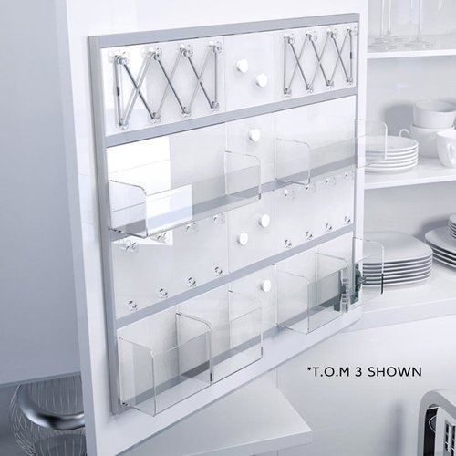 T.O.M. 2 Door Organization System 12-1/2 inch W <small>(#9000 3313)</small>