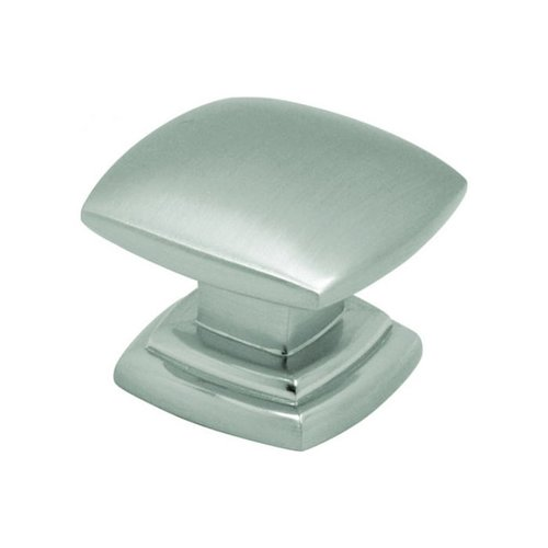 Hickory Hardware Euro-Contemporary 1-1/2 Inch Diameter Satin Nickel Cabinet Knob P2163-SN