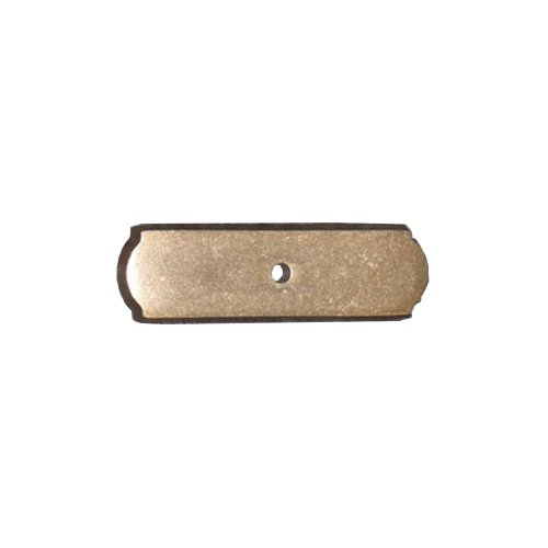 Top Knobs Aspen 2-1/2 Inch Length Light Bronze Back-plate M1431