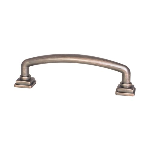 "Berenson Tailored Traditional Pull 3-3/4"" C/C Verona Bronze 1279-10VB-P"