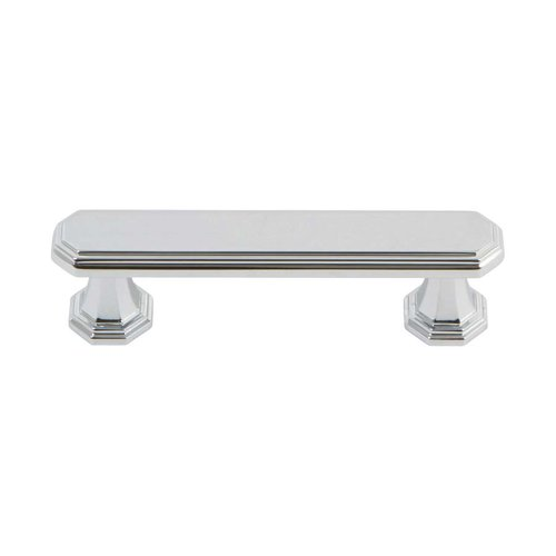 Dickinson 3 Inch Center to Center Polished Chrome Cabinet Pull <small>(#320-CH)</small>
