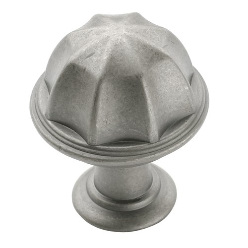 Amerock Eydon 1 Inch Diameter Weathered Nickel Cabinet Knob BP53035WN