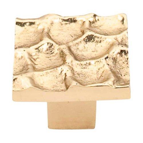 Top Knobs Cobblestone 1-3/8 Inch Diameter Brass Cabinet Knob TK301BR