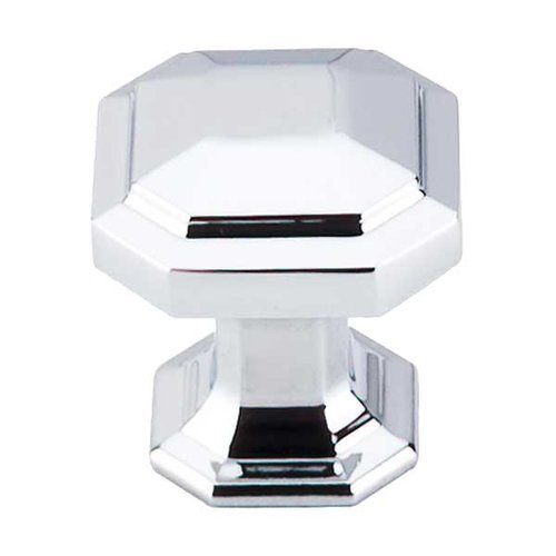 Chareau 1-1/8 Inch Diameter Polished Chrome Cabinet Knob <small>(#TK286PC)</small>